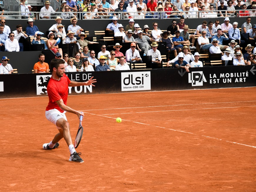 Gilles Simon face à Dominic Thiem en finale de l'Open Parc à Lyon !