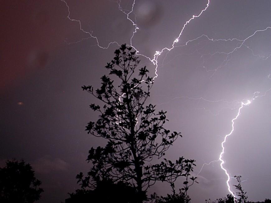 Fin de la vigilance orange aux orages dans le Rhône (Màj)