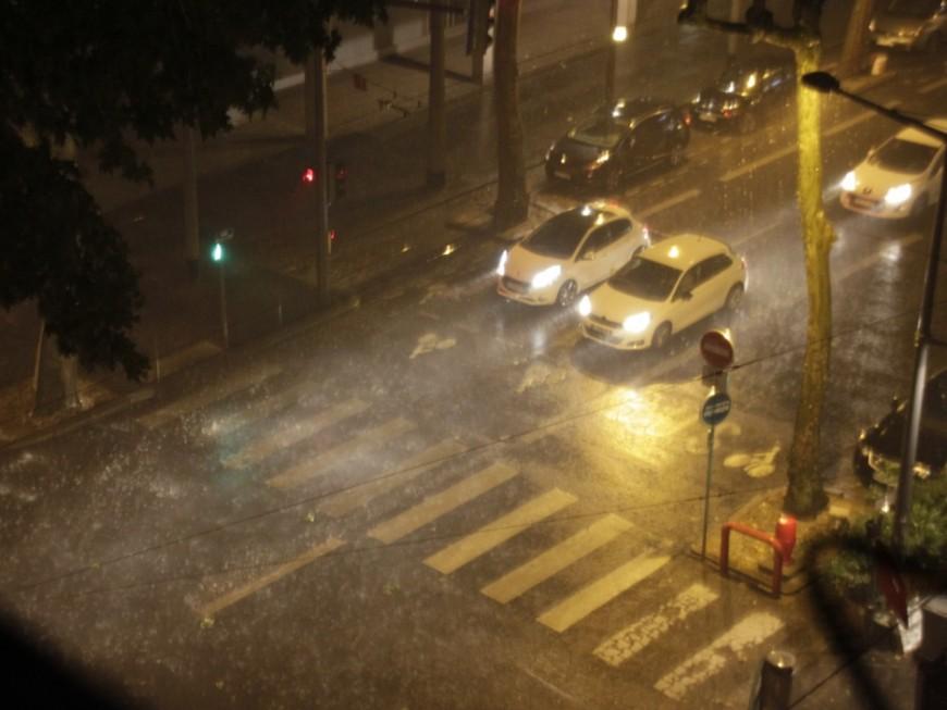 De violents orages et des pluies importantes sur l'agglomération lyonnaise !