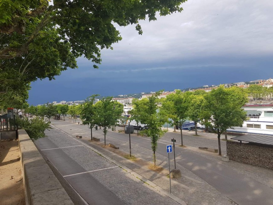 Orages: appel à la prudence à Lyon ce vendredi après-midi