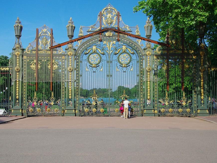 Parc de la Tête d'Or : 1,2 million d'euros pour rénover la porte des enfants du Rhône