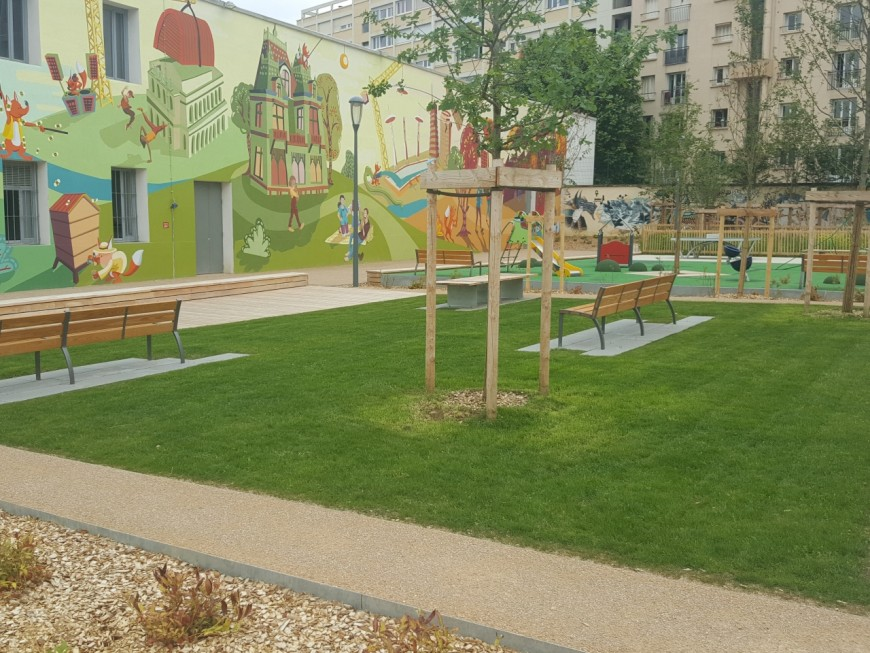 Espaces verts : près de 24 millions d'euros investis par la Ville de Lyon d'ici 2020