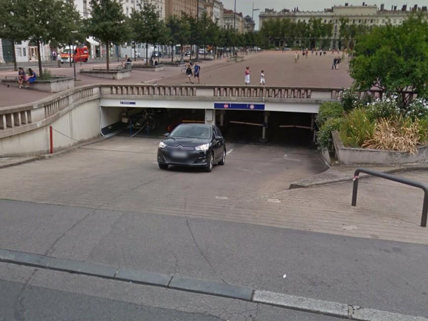 Lyon : le parking Bellecour va fermer jusqu'au 12 juillet