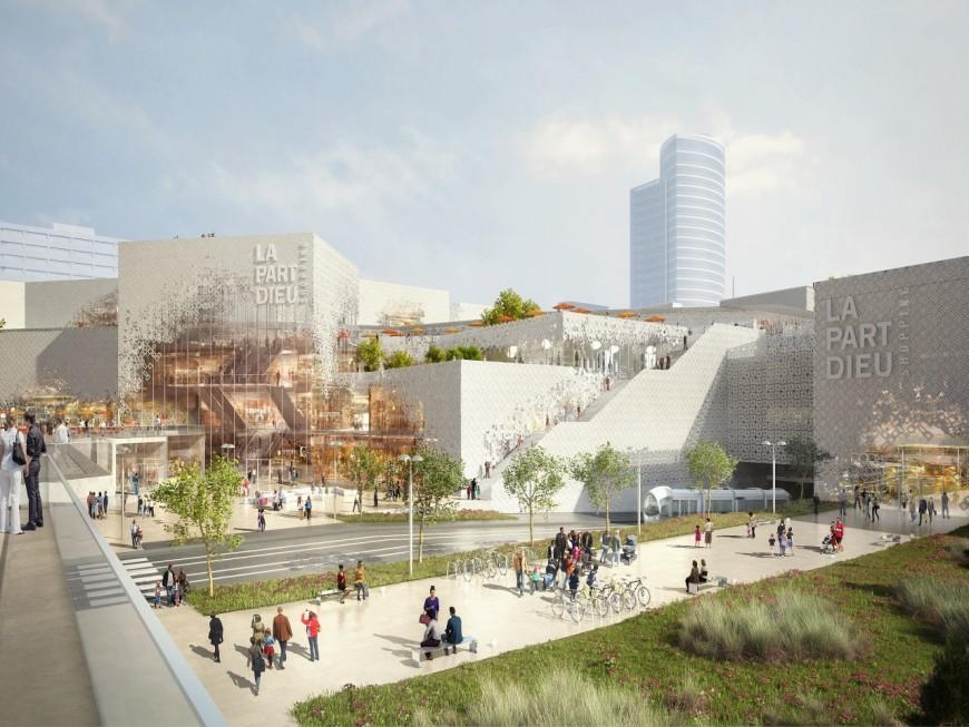 Le centre commercial de la Part-Dieu rénové d'ici 2020
