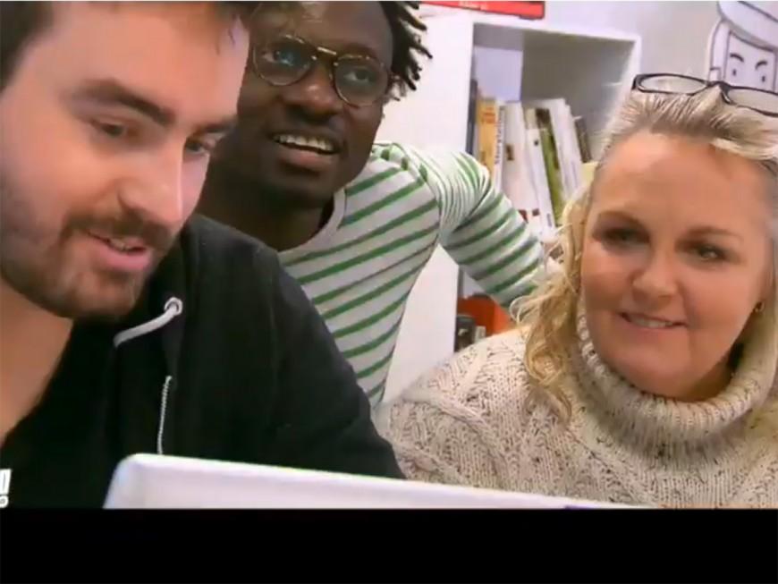 """Paul Morlet (Lunettes pour Tous) star de l'émission """"Les Français ont du génie"""" sur TF1"""