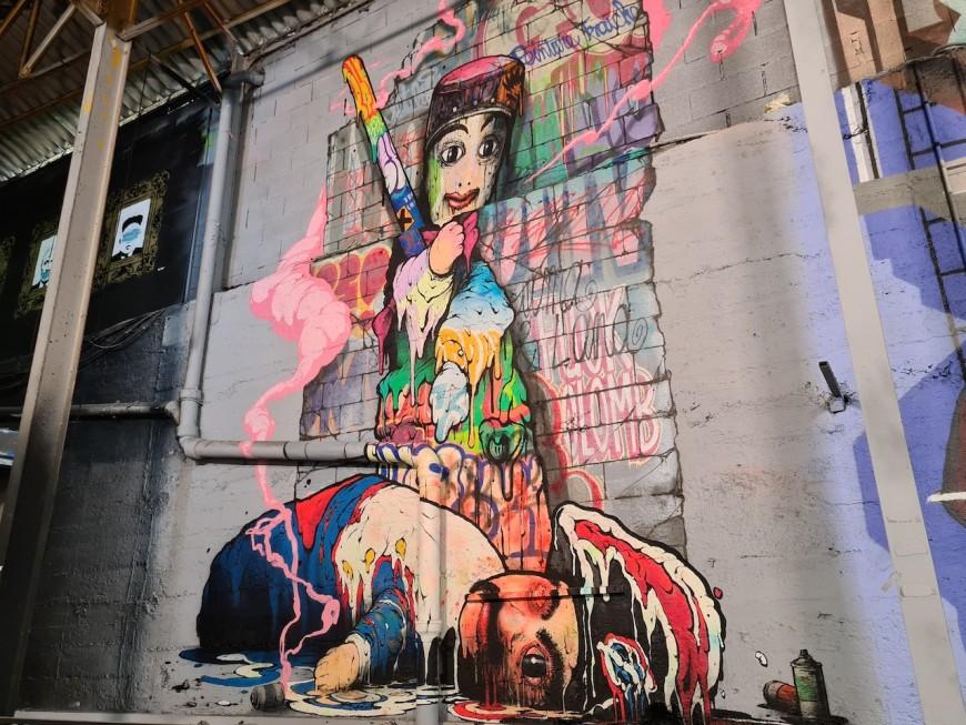 Lyon : le Peinture Fraîche Festival a fait le plein malgré la crise sanitaire
