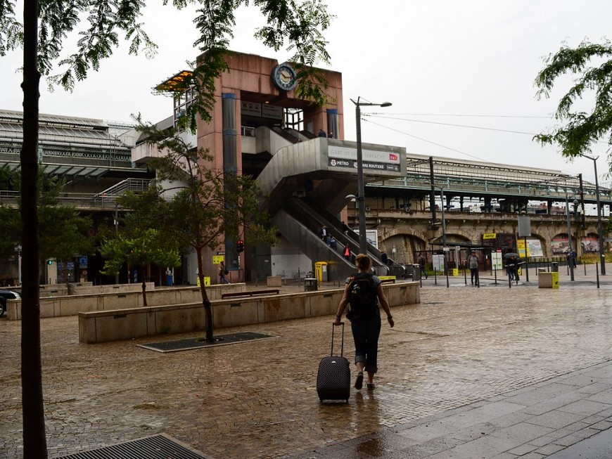 Les emblématiques escalators de Perrache démantelés à Lyon
