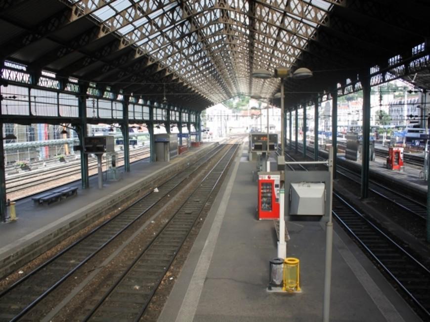 Renouvellement des aiguillages de la gare de Perrache : la moitié des lignes exploitables