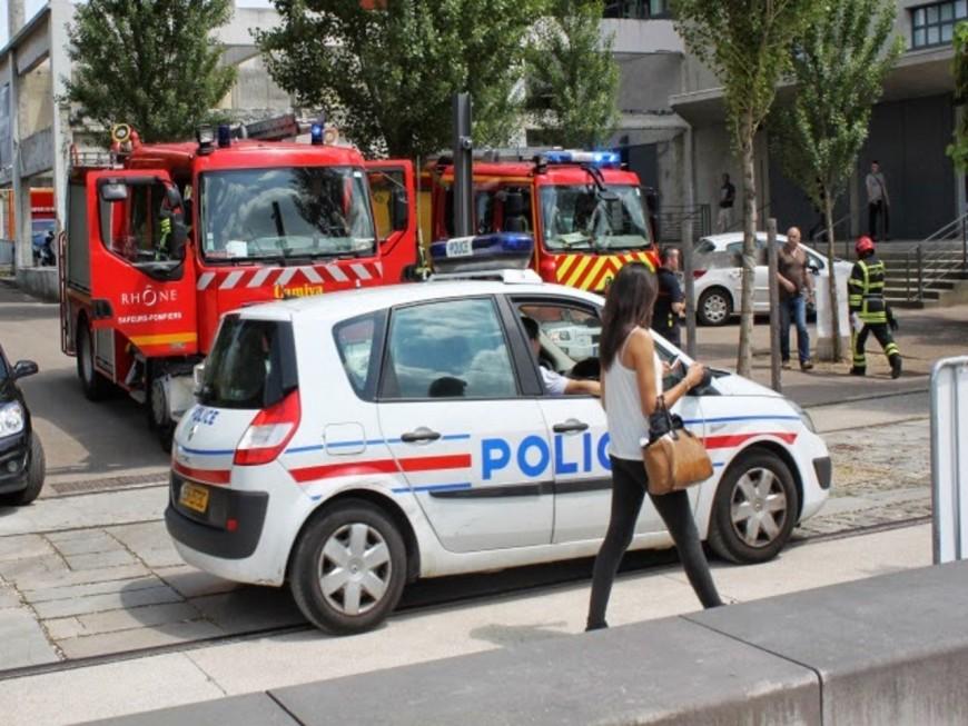 Lyon : 3 hommes ont été arrêtés après avoir volontairement mis le feu à des broussailles
