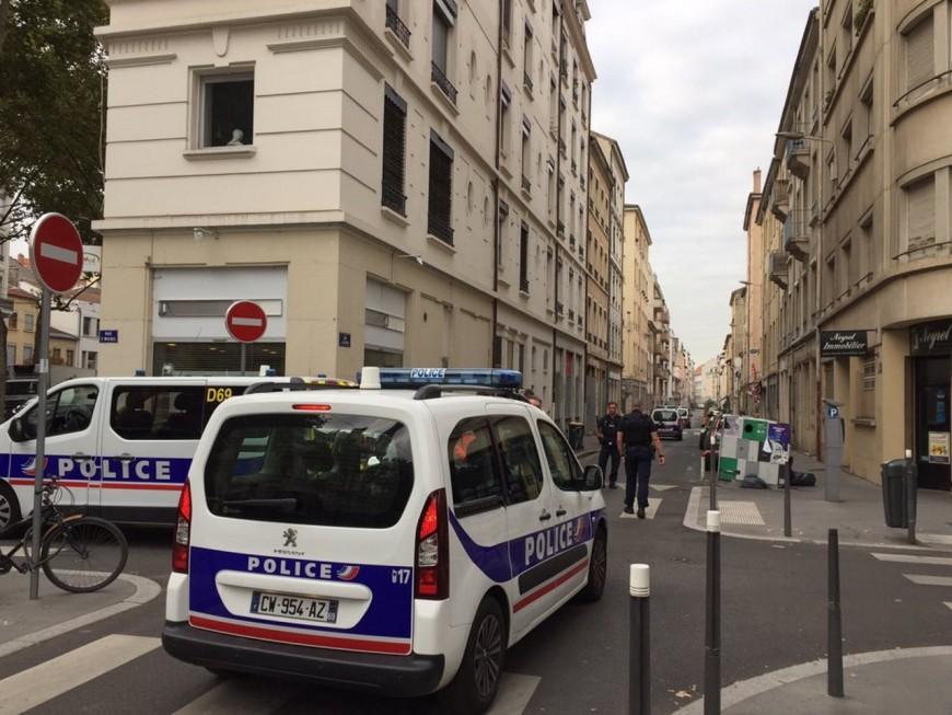 Intervention spectaculaire de la police rue Montesquieu à Lyon (MàJ)