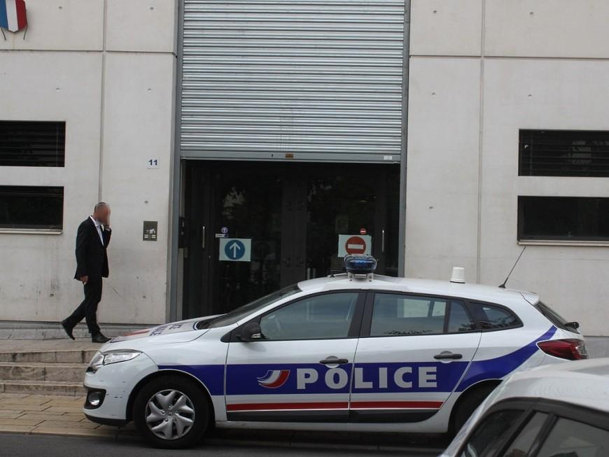 Reconstitution d'une tentative d'homicide ce mercredi à Vénissieux
