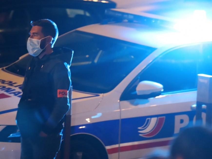 Lyon : il se fracture le tibia en prenant la fuite après des jets de mortiers sur des policiers