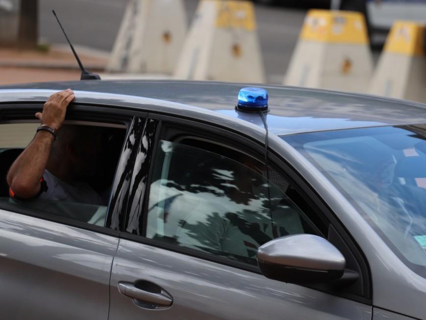 Lyon 7e : le conducteur refuse un contrôle de police et cause un accident