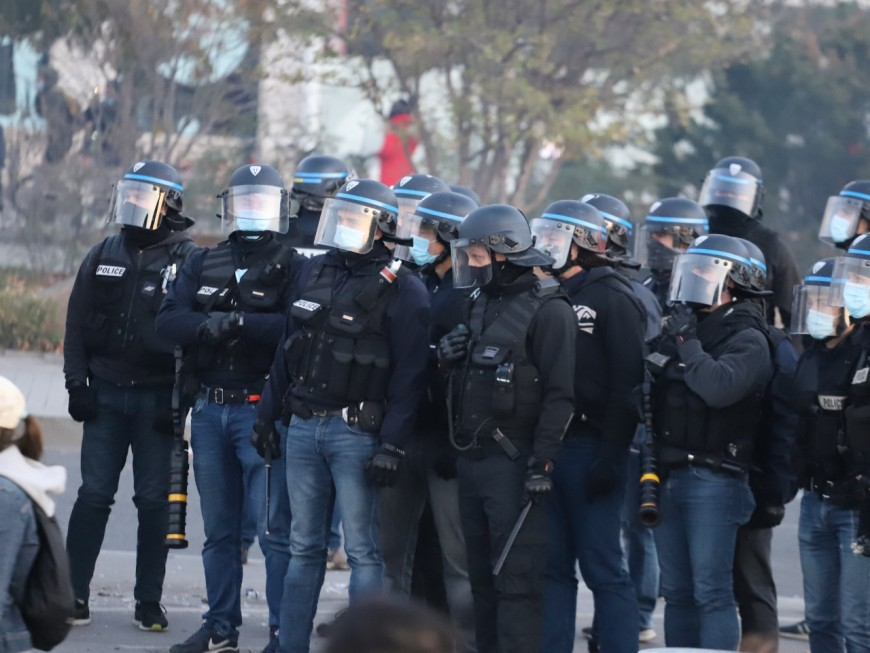 Manif contre la loi Sécurité globale à Lyon : 23 policiers blessés, sept manifestants interpellés