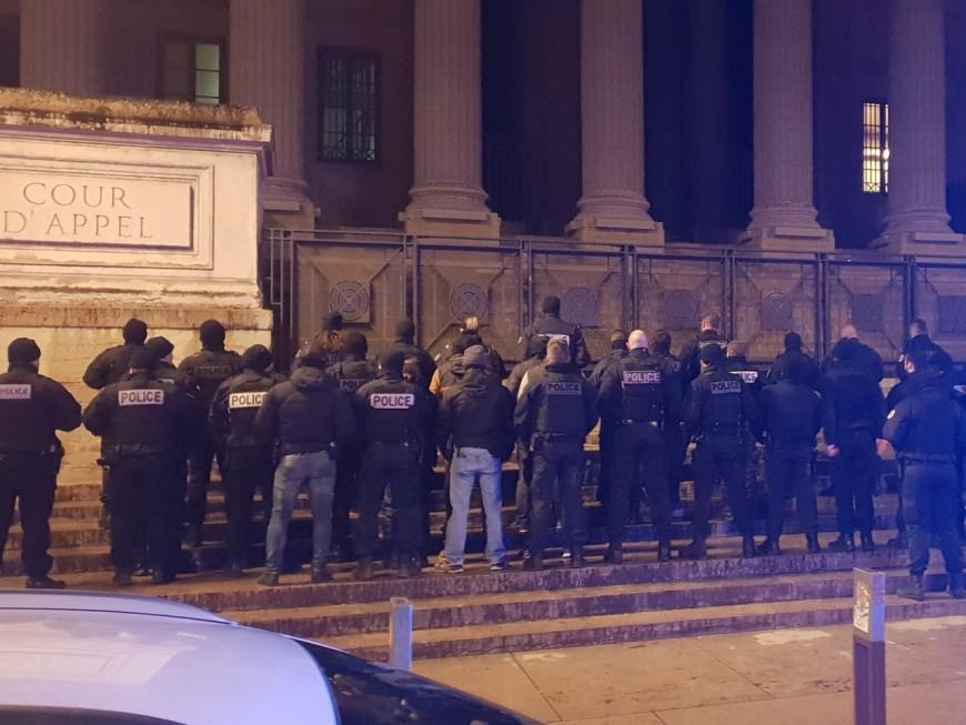 Lyon : nouvelle manifestation des policiers de nuit
