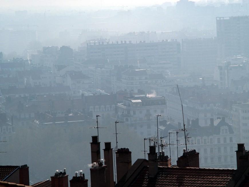 Pollution aux particules fines : le bassin lyonnais en vigilance orange