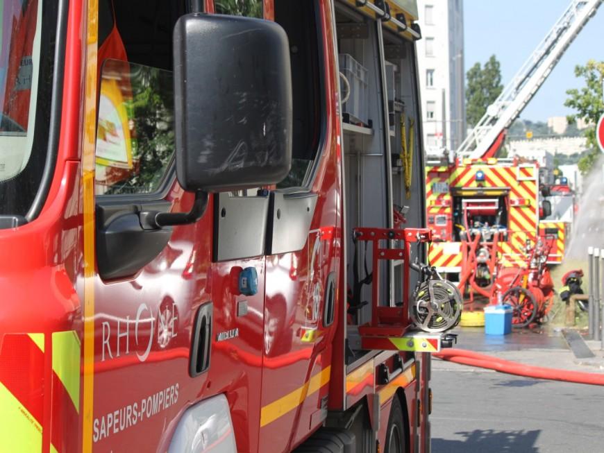 Une armada de pompiers dépêchée à Décines à cause d'une illusion d'optique