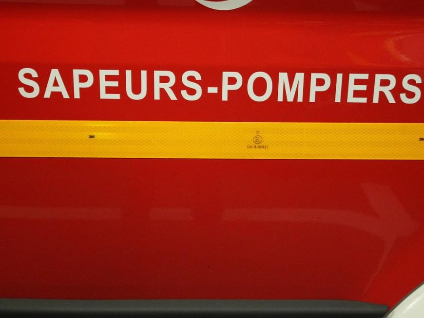 Lyon : un violent incendie ce mardi matin
