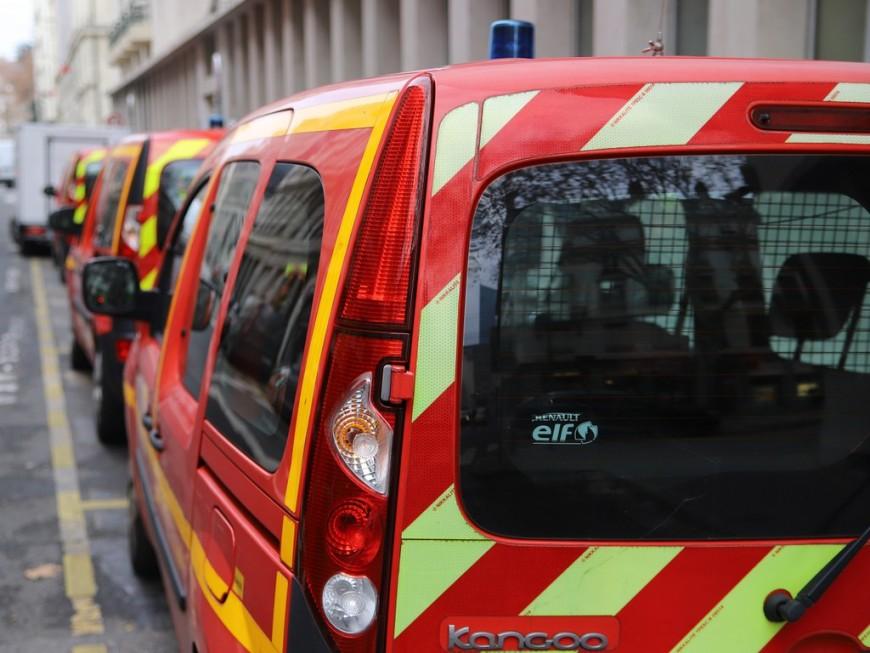 Lyon : deux ouvriers se retrouvent coincés dans une nacelle à plus de 30 mètres de hauteur