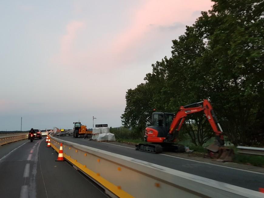 Travaux sur l'A47 : le pont de Givors fermé ce jeudi soir