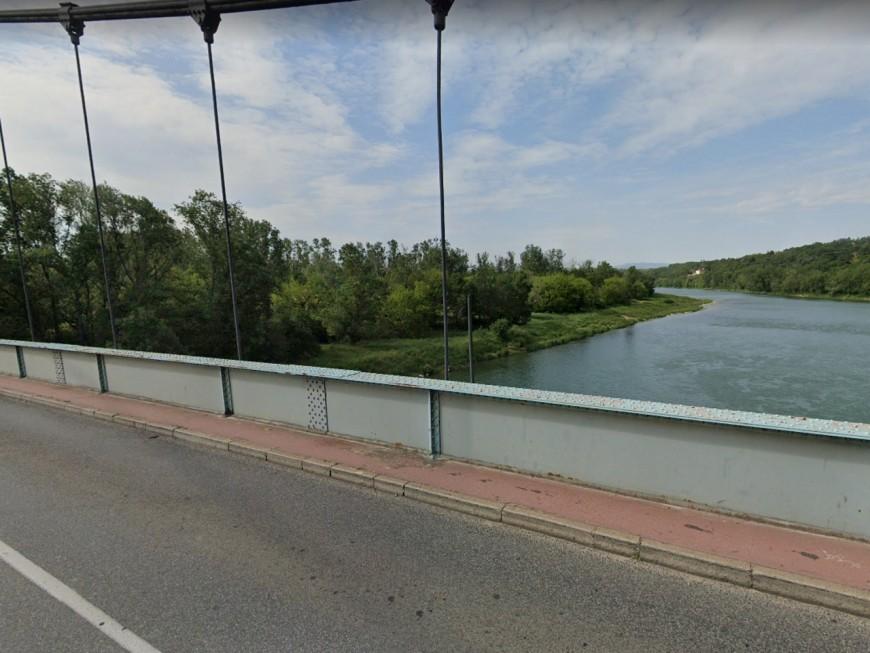 Le pont de Vernaison désormais interdit aux poids-lourds