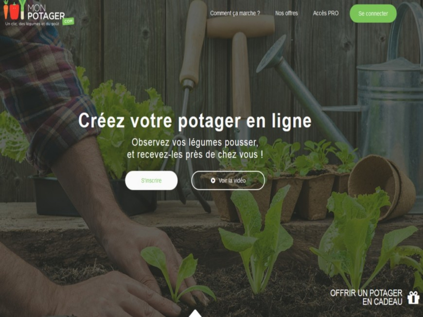 Monpotager.com à la recherche de 300 000 euros fait appel au crowdfunding