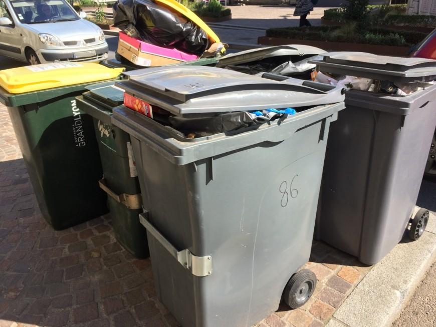 La collecte des ordures ménagères perturbée par une grève dans la Métropole de Lyon