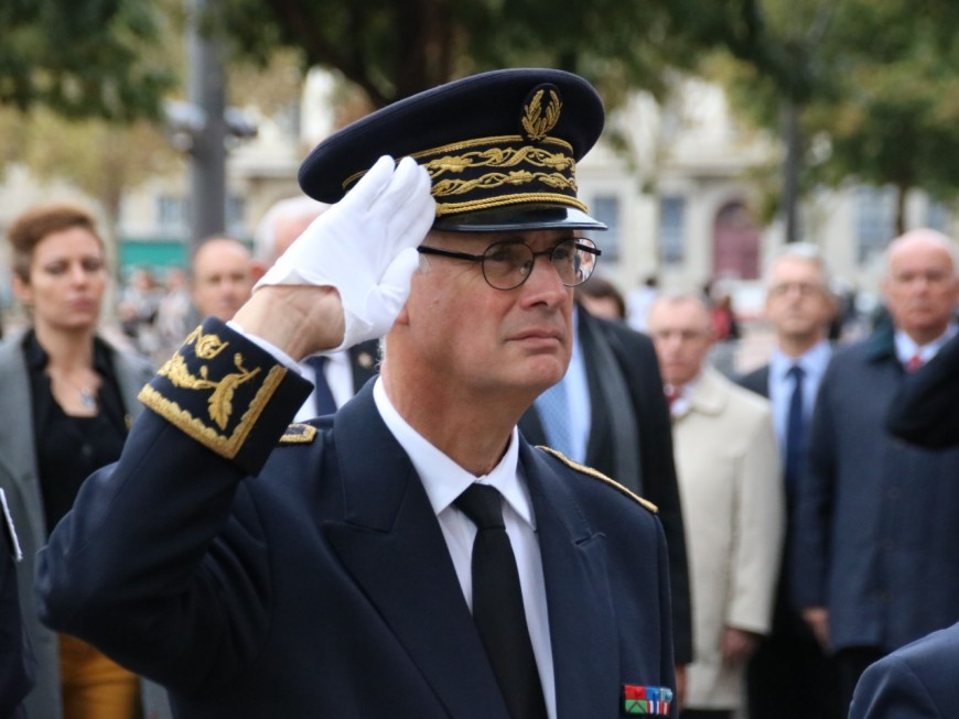 Stéphane Bouillon, nouveau préfet du Rhône, prend ses fonctions