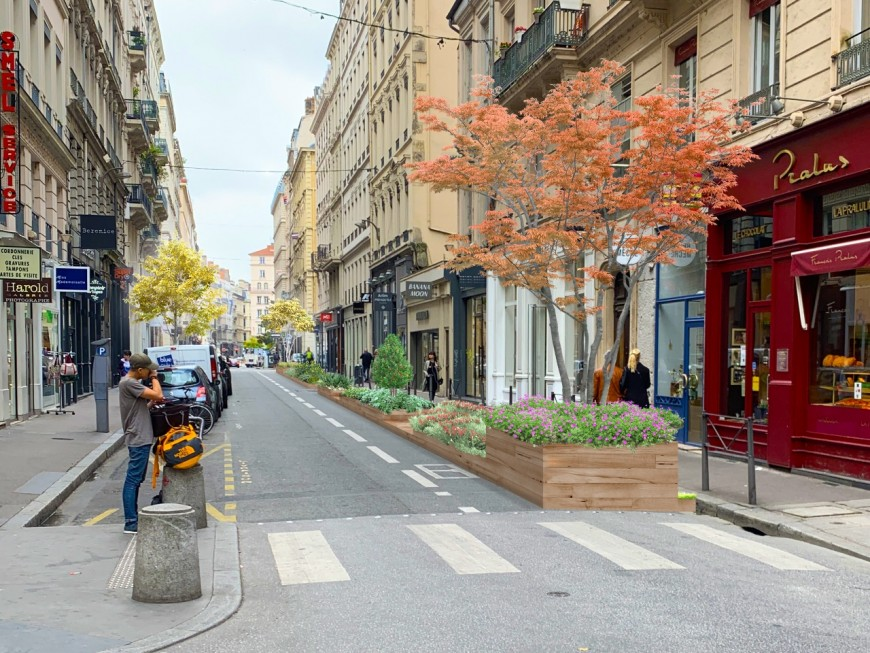 Lyon : les rues de la Presqu'Île bientôt végétalisées ? - VIDEO