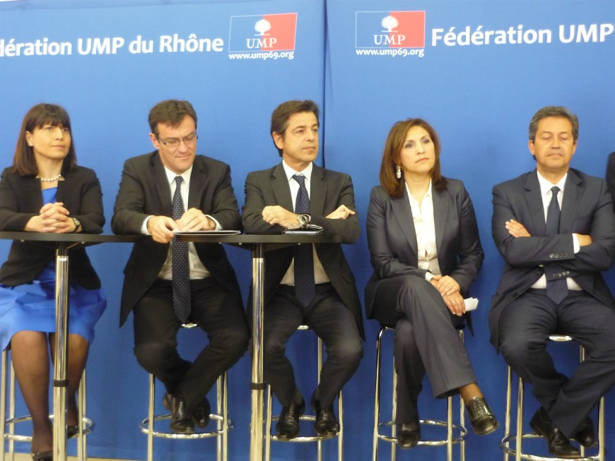 Primaire UMP à Lyon : premières tensions entre les candidats lors du second débat