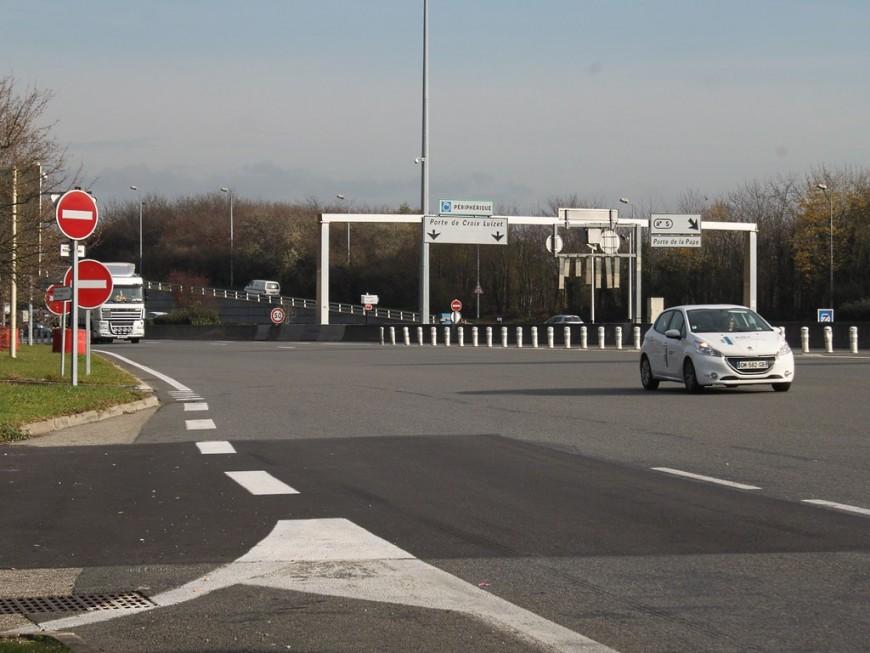 Le Périphérique Nord en direction de Genève de nouveau accessible