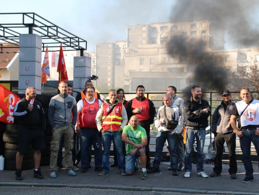 Grève à Prosegur Rhône-Alpes : un employé grièvement blessé en marge d'une manifestation