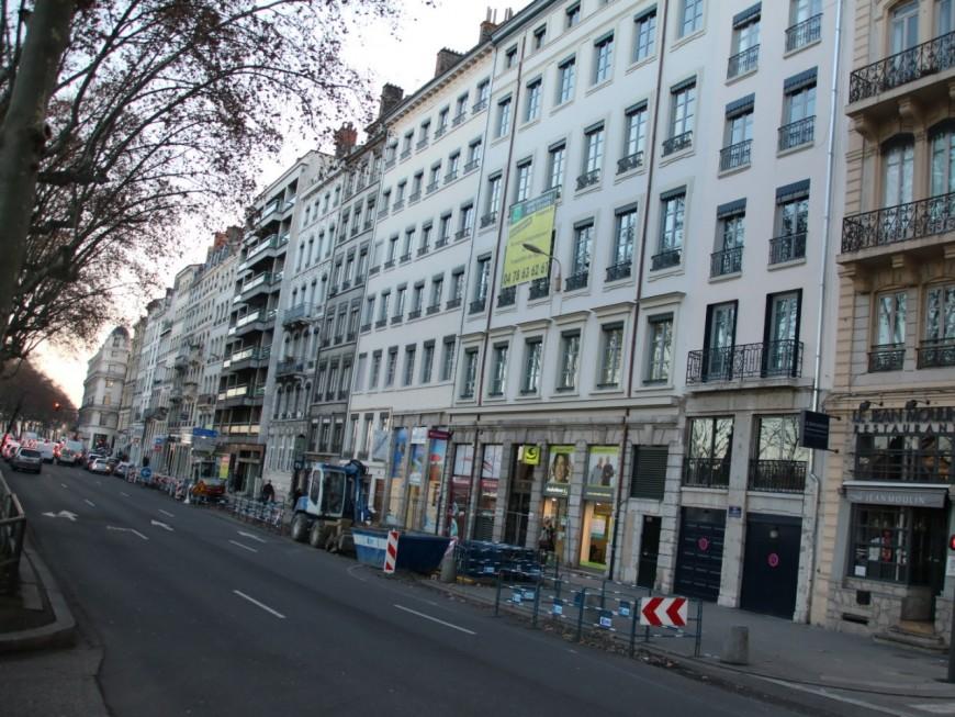 Lyon : un homme retrouvé mort au pied d'un immeuble sur les quais du Rhône