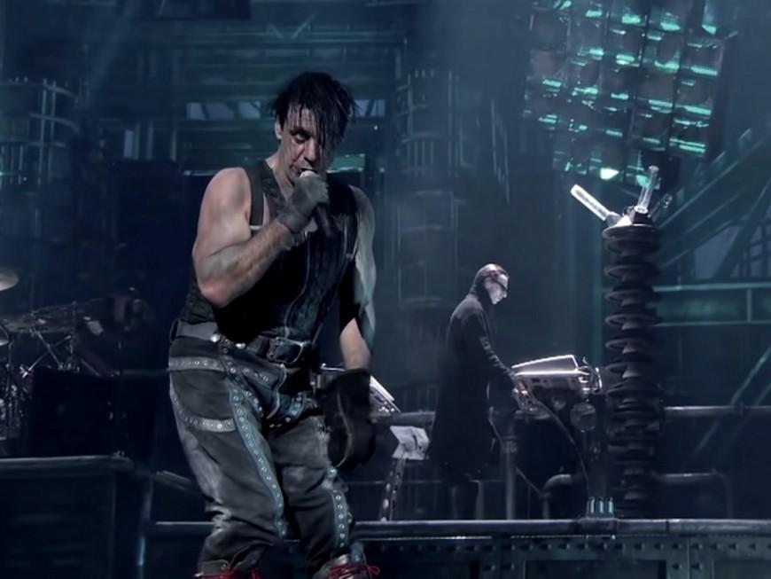 Rammstein en concert au Groupama Stadium en 2020