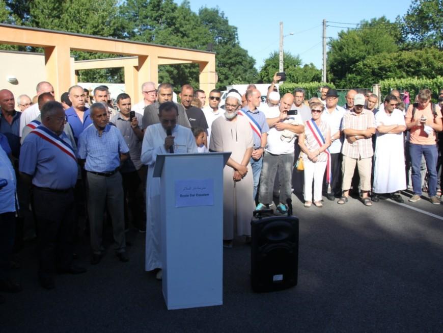 Attentat : une centaine de personnes au rassemblement des autorités musulmanes à Villefontaine