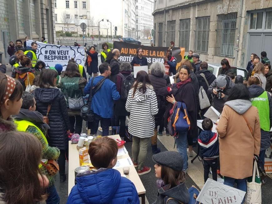 Lyon : nouvelle action contre la pollution de l'air ce lundi matin