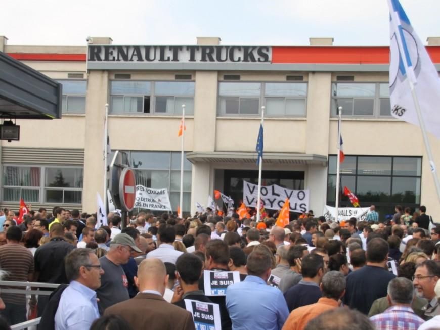 Renault Trucks devrait finalement licencier moins de 200 personnes