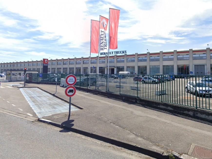 Les salariés de Renault-Trucks en grève