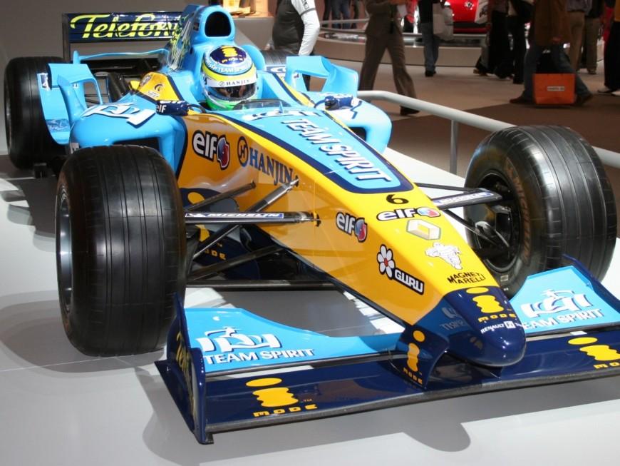 Une démonstration de F1 à Pierre Bénite en avril