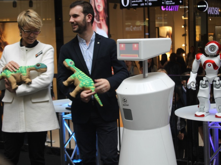 Les robots s'invitent à la Part Dieu