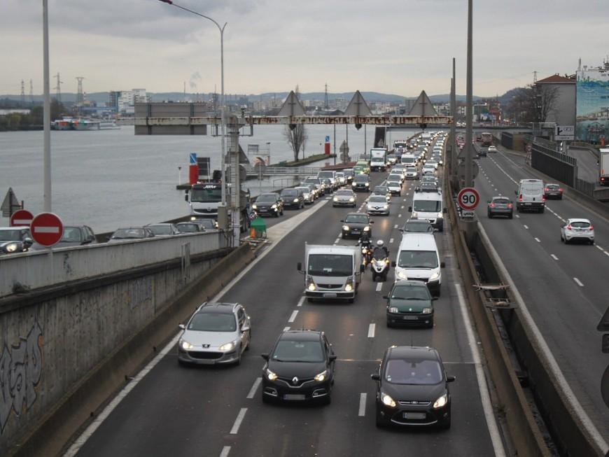 500 km de bouchons cumulés dans la métropole de Lyon !