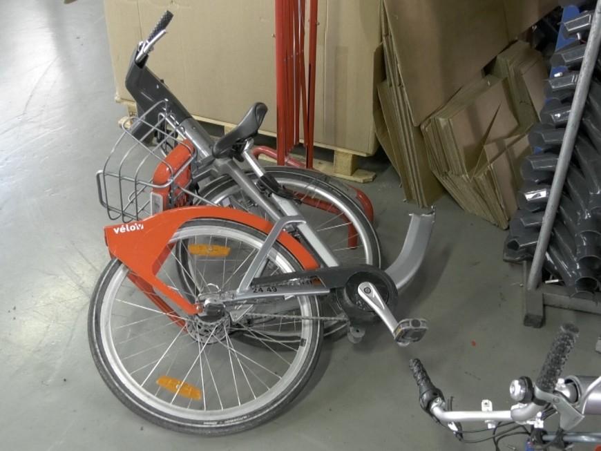 Vélo'v : le centre de réparation lutte contre le vandalisme - VIDEO
