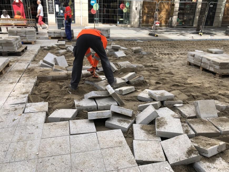 Lyon : il faut déjà refaire la nouvelle chaussée de la rue de la Ré !