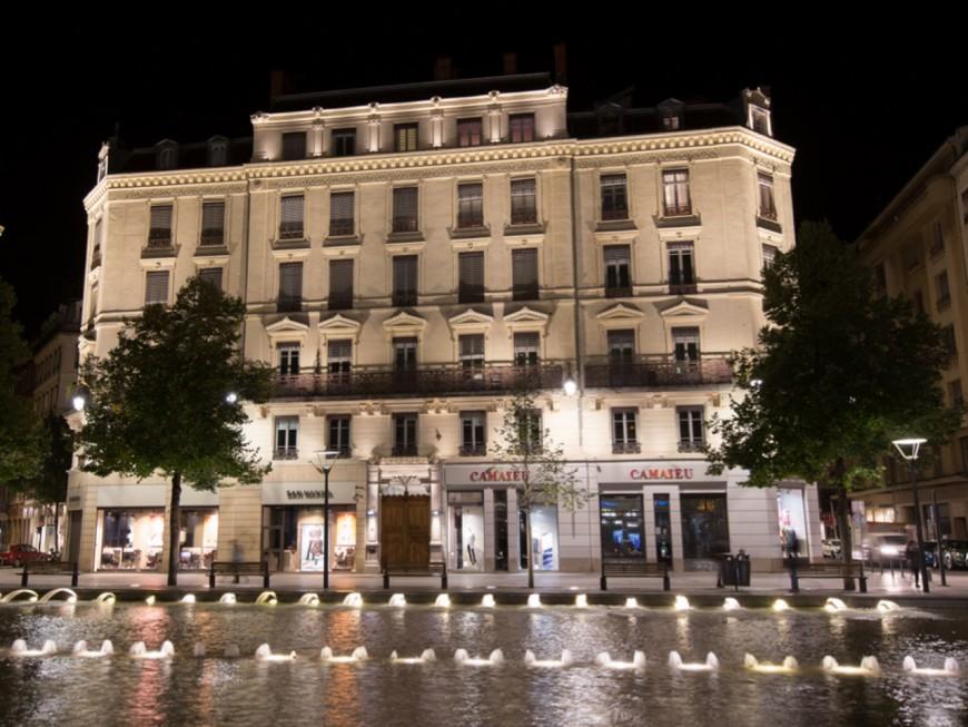 """Un nouvel éclairage pour """"mettre en valeur"""" et """"sécuriser"""" la rue de la République à Lyon"""