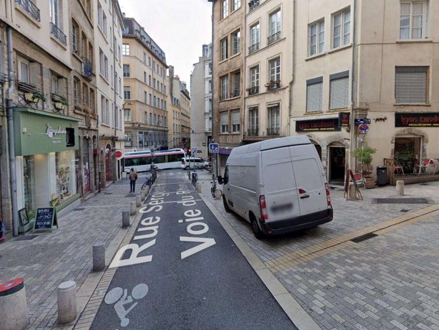 Lyon : un secteur de la rue Sergent Blandan fermée à la circulation automobile