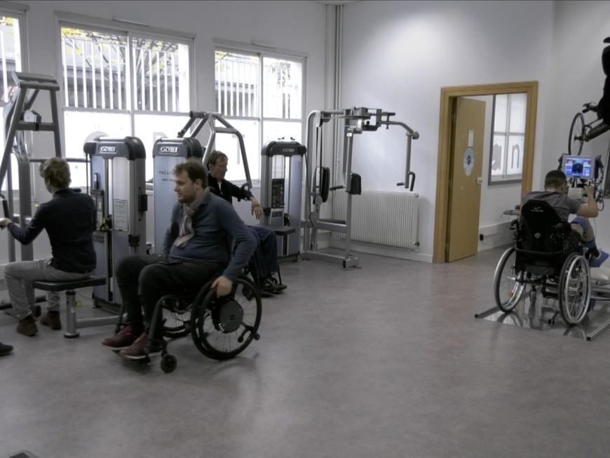 Lyon : une salle de sport dédiée aux personnes handicapées - VIDEO