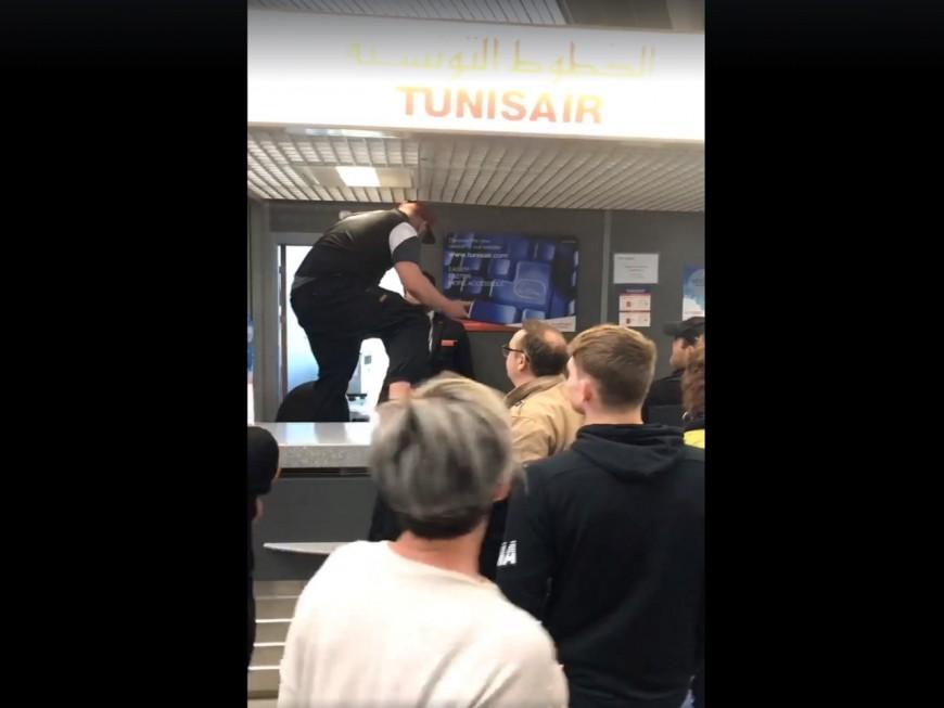 Quatre cents passagers bloqués à Lyon-Saint-Exupéry