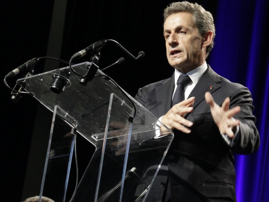 Nicolas Sarkozy en campagne dans le Rhône à 10 jours de la primaire de la droite et du centre