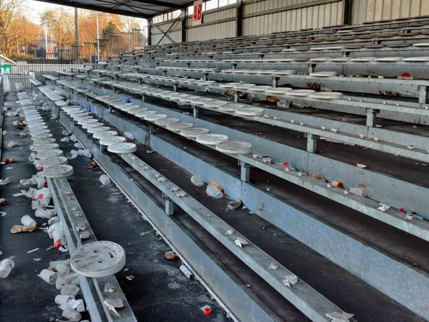 Tribunes dégradées à Bourg-en-Bresse : l'OL porte plainte