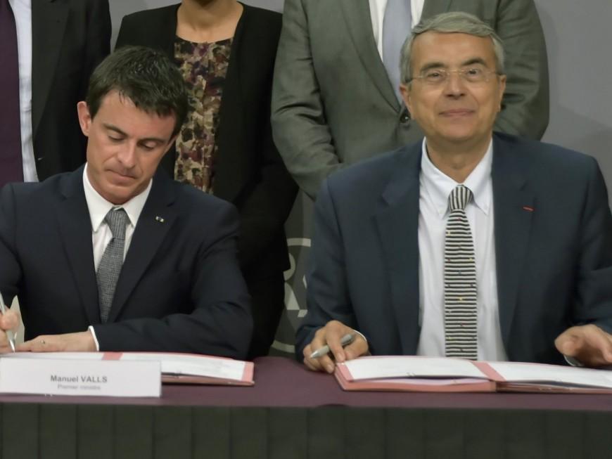 Rhône-Alpes : ce que prévoit le plan Etat-Région signé par Valls et Queyranne